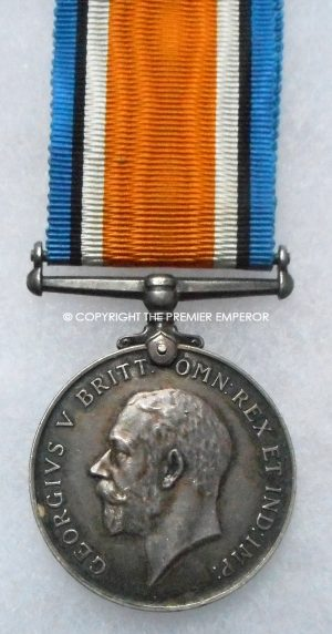 British War medal 1914/1918 A.C.1.Royal Naval Air Service.(R.N.A.S.)