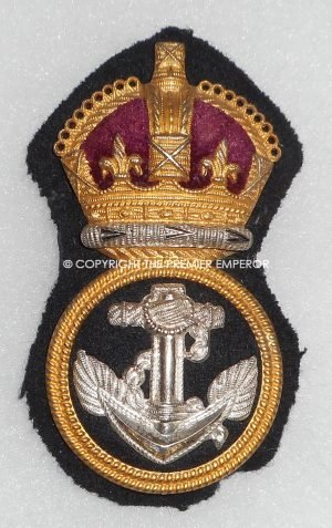 British/Canadian Royal Navy Petty Officer's cap insignia. Circa.1930's/40's