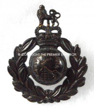 British Royal Marines cap badge QEII Crown.Post 1960