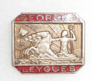 France. Naval insignia.GEORGES LEYGUES, Croiseur,(Cruiser).Circa.1940's