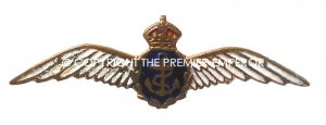 British R.N.A.S.(Royal Naval Air Service) Sweetheart brooch.(Small size).
