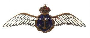 British R.N.A.S.(Royal Naval Air Service) Sweetheart brooch.(Large size).
