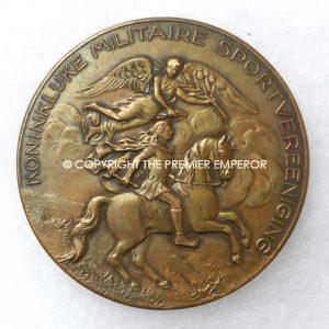 Holland. Dutch Military School Sports medal.Circa.1933