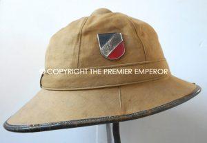 German Afrikakorps Tropenhelm (For Restoration or parts) Circa.1940's.