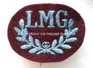 British.Parachute Regiment LMG (Light Machine Gunners) trade patch.