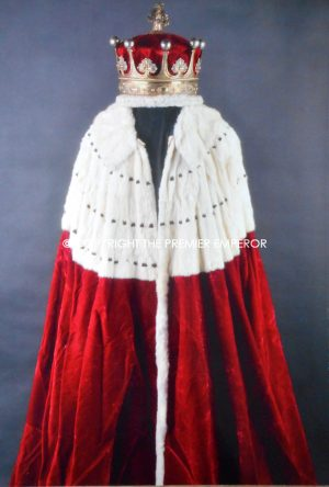 1821 The 10th Earl of Westmorland's Coronation Ensemble for the Coronation of George IV of Great Britain.(EX-FORMAN Archive)
