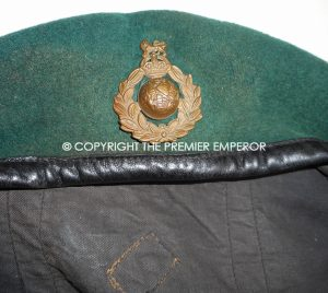 British Royal Marine Commando beret WW2.Circa.1939/45