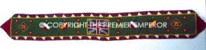 British. Great Britain, France & Belgium 1917 Commemorative Tapestry.Great War 1914/1918 .