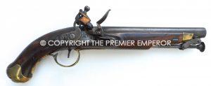 British New Land Service Flintlock Military pistol. Circa.1800's