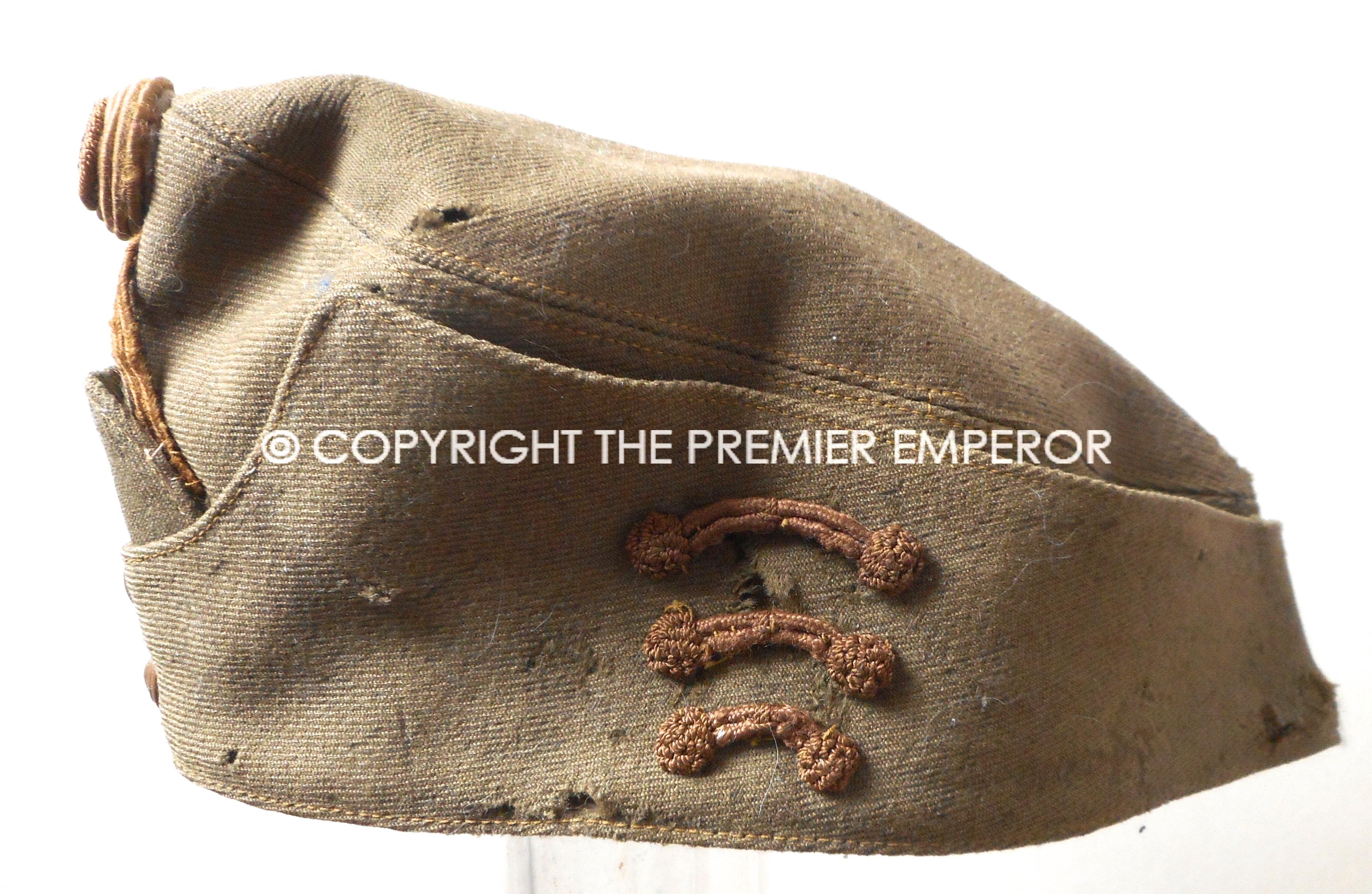 76e7ea95c Hungary. Hungarian Army Field Service side cap. Circa.1939/45