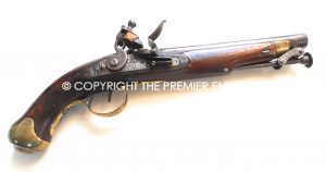 THIS ITEM IS RESERVED:- British New Land Service Flintlock Military pistol. Circa.1800's