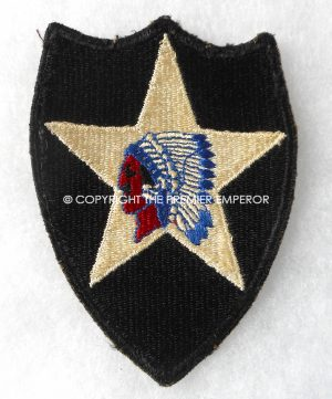 United States of America. 2nd Infantry Division patch.Circa.1939/45