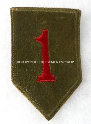 United States of America. 1st Infantry Division patch(Big Red One).Circa.1939/45