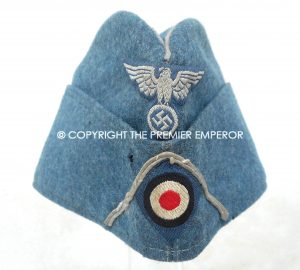A very Rare German Bahnpolizei (S.S.controlled)Overseas sidecap.Circa.1943