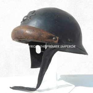 France Artillerie M1935 Chars d'Assault helmet.(Scarce)