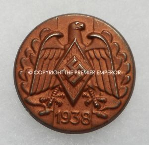 German Tinnie/Day badge. Hitler Youth sports day 1938. Circa.1938