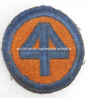 United States of America. 44th Infantry Division patch.Circa.1939/45