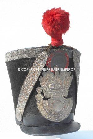 "France. Garde Nationale Chasseurs ""Monarchie de Julliet"" Officer's shako.Circa.1830"