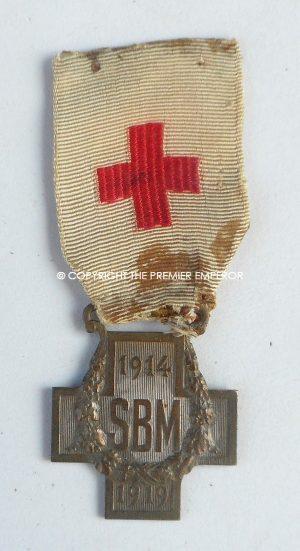 France.Great War 1914/1919 Red Cross S.B.M.cross.