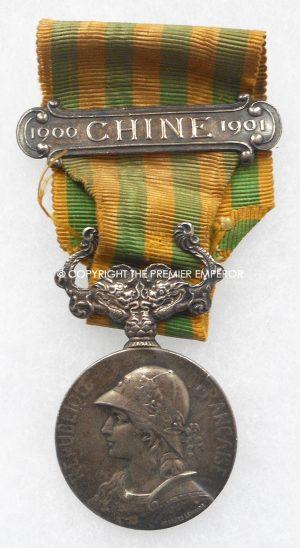 """France. The1901 China expedition commemorative medal(""""Médaille commémorative de l'expédition de Chine (1901)"""""""