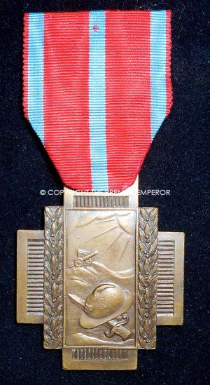 Belgium. Great War Fire Cross(Vuurkruis 1914–1918,Croix du Feu 1914–1918).Circa.1914/1918