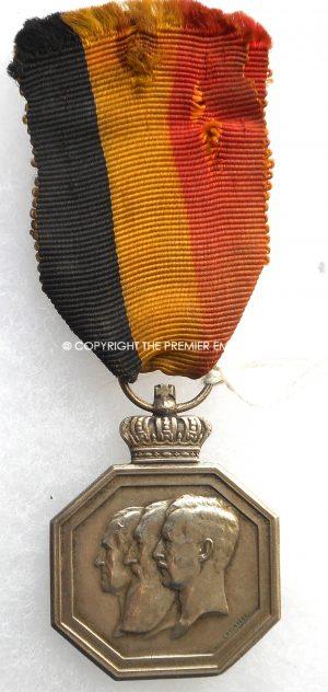 Belgium. Centenary of National Independence Commemorative Medal.Circa.1930