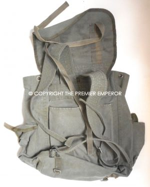 9a9bf80904e France. Indochine Algerie period French Army back pack.