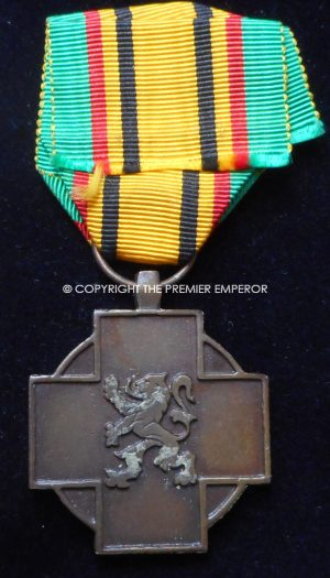 Belgium.Military Combatant's Cross (Croix du Combattant Militaire / Kruis van de Militaire Strijder) 1940-1945