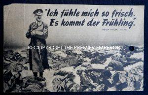 Allied Propaganda leaflet. Circa.1940's