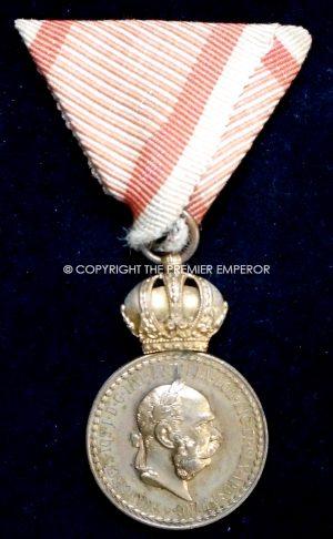 Austria.Military Merit medal. Signum Laudis Franze Joseph.Circa.1914/18