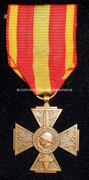 France. Volunteer Combatant's Cross (Croix du Combattant Volontaire), 1939-45