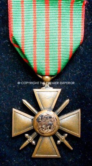 France. Croix de Guerre 1914-1916