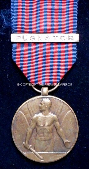 Belgium. Volunteer Combatant medal 1952 with Pugnator clasp for being under fire.
