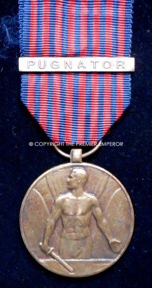 Belgium. Volunteer Combatant medal 1952 with Pugnator clasp for being under fire.