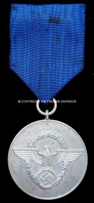 German. Police 8-years Long service medal.(Polizei Dienstauszeichnungen).Circa.1938