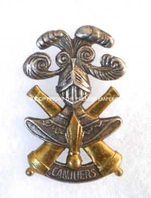 France: Camp de CANJUERS insignia.(Chars de Combat)