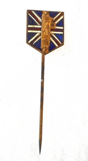 British Union of Fascist 1st type stickpin membership badge.Circa.1930's