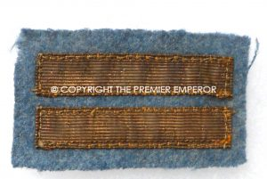 France: Great War French Army Officer's gold braid rank stripes(Lieutenant). Circa.1914/1918