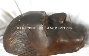 British Historical:Original Death Mask of John Scott 1st Earl of Eldon. Circa.1838
