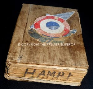 "France. Scarce French Marine Aviation flying ""Carnet""(Log Book) Circa.1918-1935"