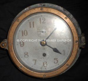 Japan: Japanese Naval clock(Submarine) Circa.1940-45