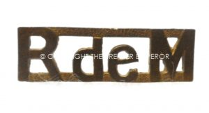 Canada: Le Regiment Maisoneuve, brass shoulder title.