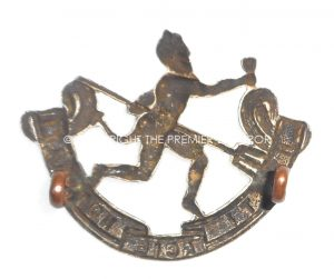 Canada: Winnipeg Rifles cap insignia.Circa.1922.