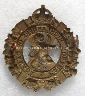 Canadian Militia. 79th Cameron Highlanders of Canada cap badge. Circa.1910