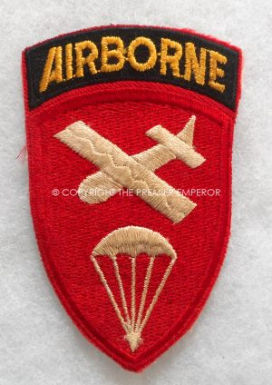 United States of America. WW2 Airborne Command patch.Circa.1939/45