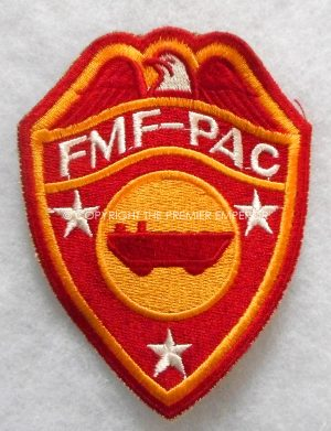 United States of America. WW2 U.S.M.C. Fleet Marine Pacific D.U.K.W. Companies patch.Circa.1939/45