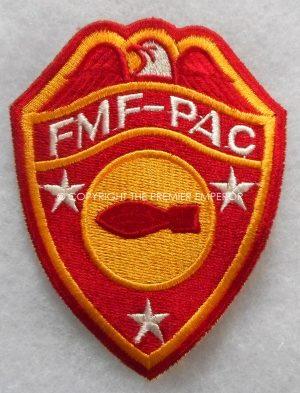 United States of America. WW2 U.S.M.C. Fleet Marine Pacific Bomb Disposal patch.Circa.1939/45