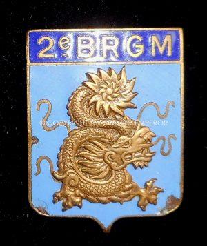 France: 2° BRGM insignia.