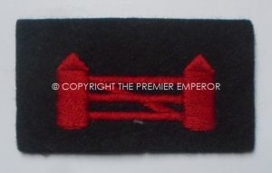 British: British Troops in Northern Ireland woven formation sign.