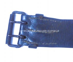 France: French Air Force (Armee d'L'Air) leather belt with buckle. Circa.1917-1930's